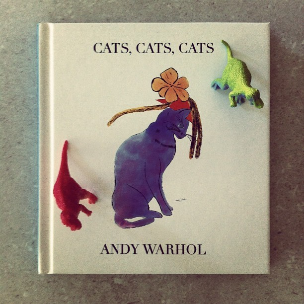 My mums favourite book. #cats (Taken with instagram)