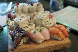 Saturday Sushi by annburlingham on Flickr.