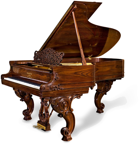 William E. Steinway Limited Edition Piano. Le sigh.
