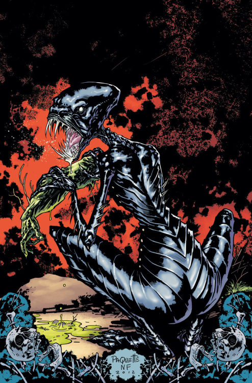 Swamp Thing #9: release date, May 2nd. I don't even know, man… wtf.