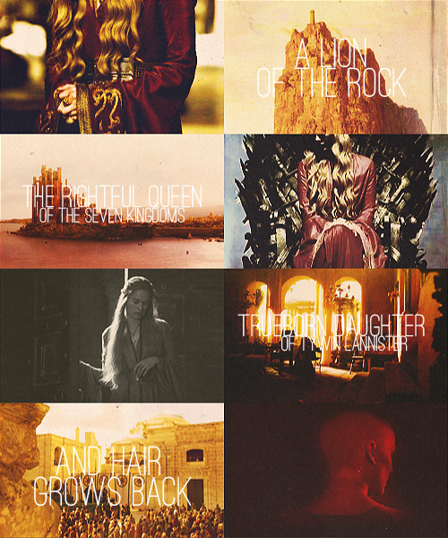 I am Cersei of House Lannister.