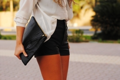 shorts, fashion, purse