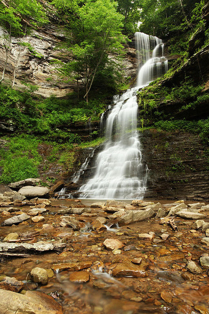 Cathedral Falls by mcmillend on Flickr.