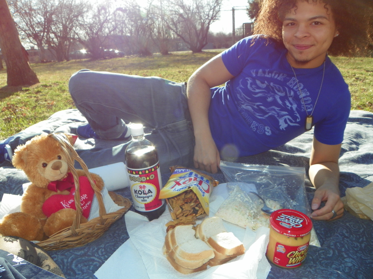The perfect picnic with me baby:)