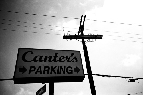 Canters, Fairfax Ave on my LOMO LC-A! Photo by Brad Elterman