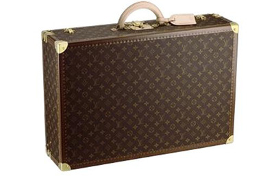Louis Vuitton Alzer 80 Suitcase Anglais Monogram Canvas.