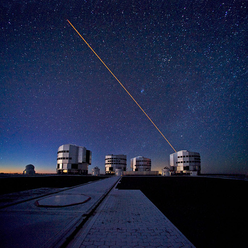 ckck:  Paranal Observatory in Chile, home of the Very Large Telescope. Ever wonder why observatories shoot lasers at the sky? Here's why.