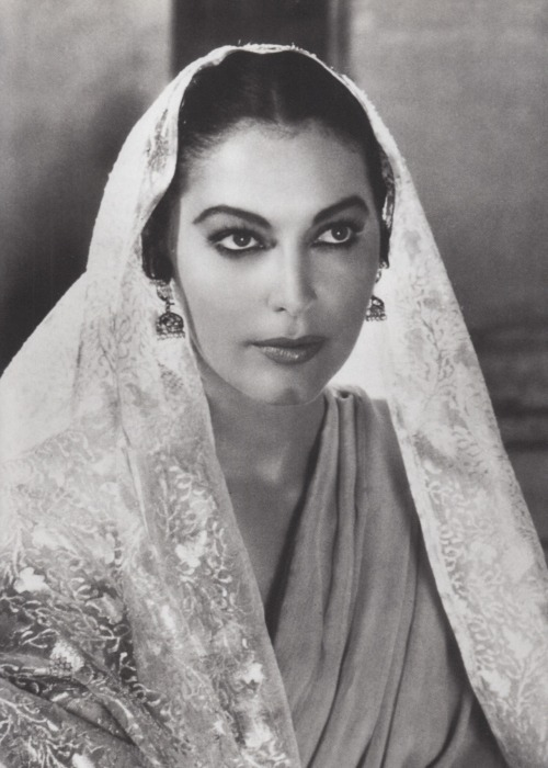 Ava Gardner in Bhowani Junction (1956).