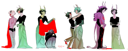 angerliz:  theyoungdoyley:  Measurements: Part One (Kanaya + co.)   that bite mark on Rose's thigh bonertown