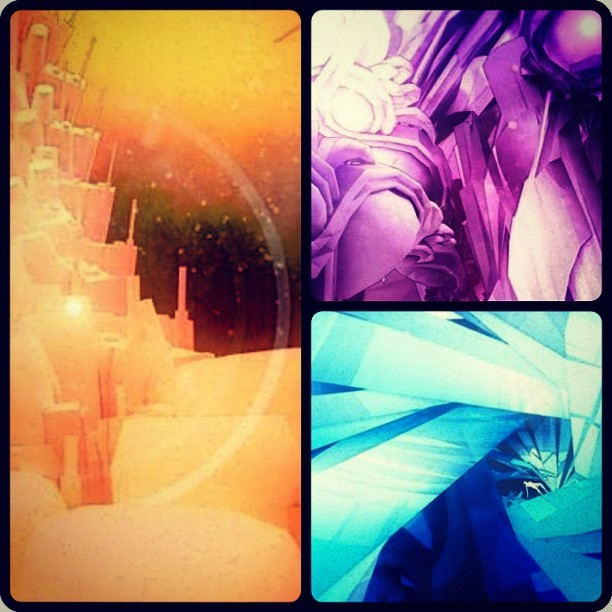 Snippets of my daily art project I have been doing. More at steveteeps.com (Taken with instagram)