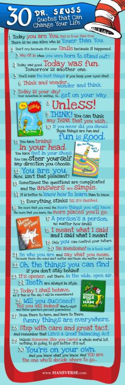 30 Motivational Quotes by Dr. Seuss