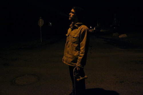 Nighttime riding with Zack by Alysia Mazzella New Paltz, New York December 2011