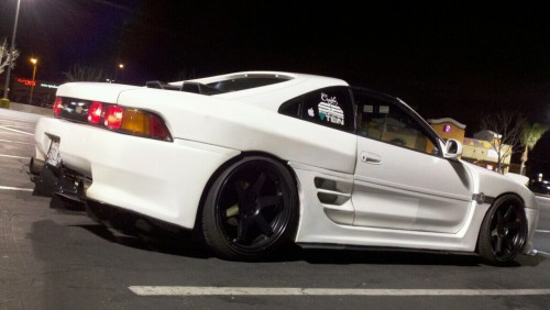 """my 2000GT MR2"" Submitted by: sickmr2-mike This is their pride and joy. The car they drive. If you like it, give this picture a like so they know it. And go check out their blog and give them a follow! Also, if you want to submit your car, you can do so here: http://whipsandchicks.tumblr.com/submit To view more submissions by tumblr-er's: http://whipsandchicks.tumblr.com/tagged/ourcars"