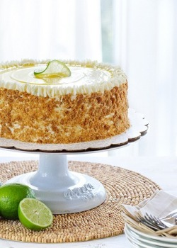 Key Lime Pie Cake.
