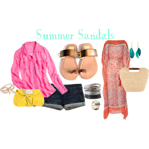 Summer 2012 Sandals by icey0701 featuring Diane von Furstenberg