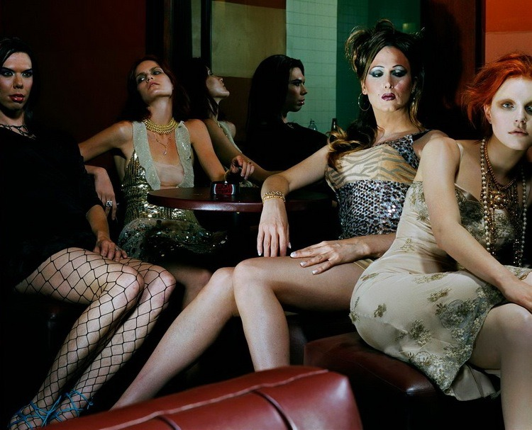 canyouwhoopit:  Vogue Italia September 2004 'Night Clubbing' by Steven Meisel