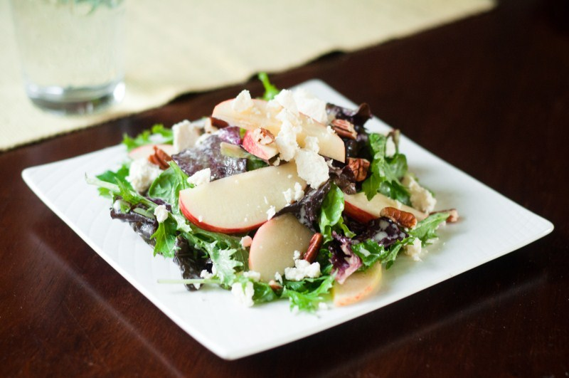 Apple Pecan Salad.