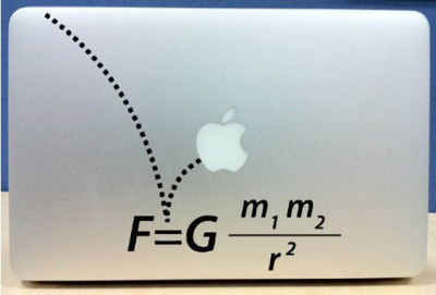 quantumaniac:  Force Laptop Decal