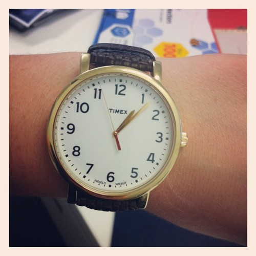 Loving my new Timex watch from STATUS…