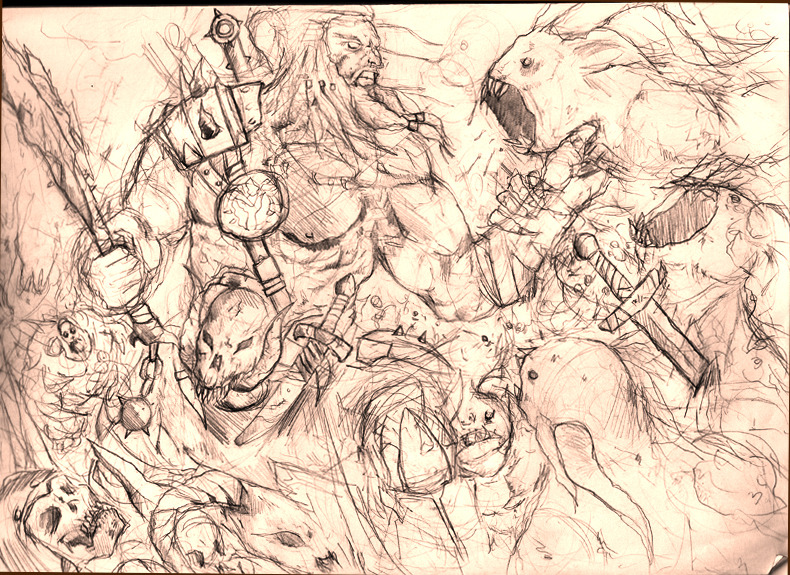 Diablo 3 Contest Sketch.