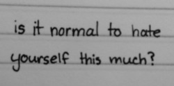 depression self harm self hate anorexia bulimia eating disorders disorders