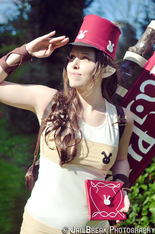 angiechuu:  Zelda : A Postman's work is never done!   Photo by Jailbreak Designs.