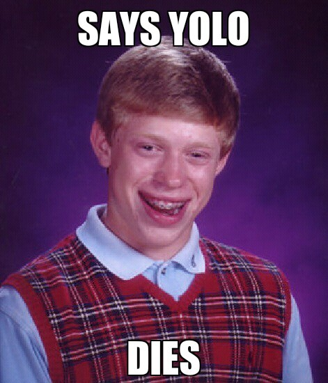 Bad luck Brian at it again