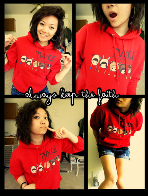 got this sweater from cassishinkishop!  loveeee it <3  AKTF