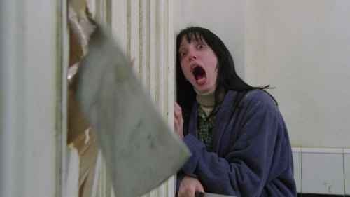 Still from Stanley Kubrick's The Shining.
