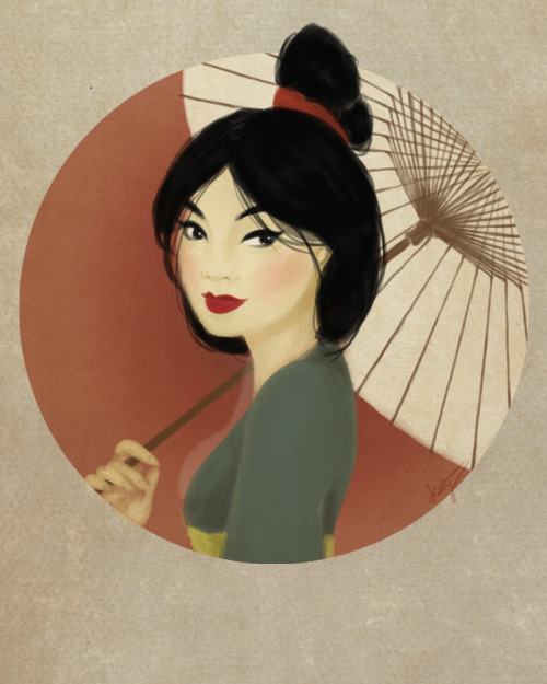 Mulan One of my favorite Disney girls!