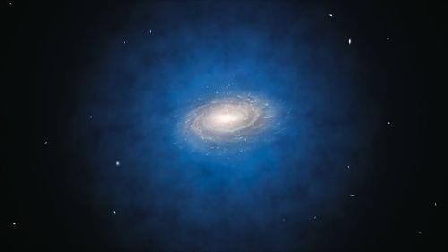 "thescienceofreality:  Milky Way Appears to be Void of Dark Matter ""The Mystery of Dark Matter Deepens - A New Solution for the Missing Mass Problem Must be Found.""   ""The most accurate study so far of the motions of stars in the Milky Way has found no evidence for dark matter in a large volume around the Sun. According to widely accepted theories, the solar neighbourhood was expected to be filled with dark matter, a mysterious invisible substance that can only be detected indirectly by the gravitational force it exerts. A new study by a team of astronomers in Chile has found that these theories just do not fit the observational facts. This may mean that attempts to directly detect dark matter particles on Earth are unlikely to be successful.A team using the MPG/ESO 2.2-metre telescope at ESO's La Silla Observatory, along with other telescopes, has mapped the motions of more than 400 stars up to 13 000 light-years from the Sun. From this new data they have calculated the mass of material in the vicinity of the Sun, in a volume four times larger than ever considered before.""The amount of mass that we derive matches very well with what we see — stars, dust and gas — in the region around the Sun,"" says team leader Christian Moni Bidin (Departamento de Astronomía, Universidad de Concepción, Chile). ""But this leaves no room for the extra material — dark matter — that we were expecting. Our calculations show that it should have shown up very clearly in our measurements. But it was just not there!""Dark matter is a mysterious substance that cannot be seen, but shows itself by its gravitational attraction for the material around it. This extra ingredient in the cosmos was originally suggested to explain why the outer parts of galaxies, including our own Milky Way, rotated so quickly, but dark matter now also forms an essential component of theories of how galaxies formed and evolved.""Continue."