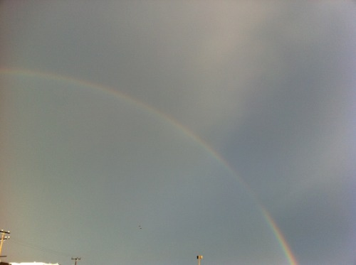Photo of the day, Rainbow.