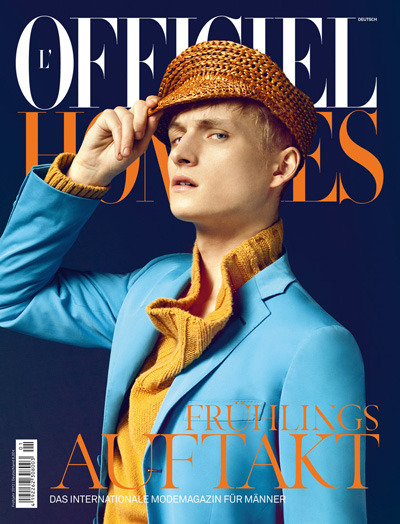 Ai ai, Captain…Burberry Prorsum style. Alexander Laible for L'Officiel Hommes Germany, S/S 2012.