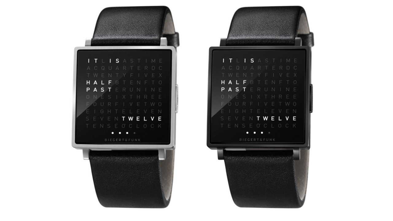 Qlocktwo Watch.