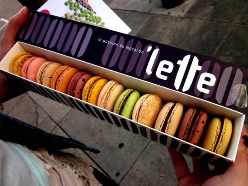 prettygirlfood:  first time at 'Lette in Beverly Hills! definitely a pick-me-up from studying for finals.