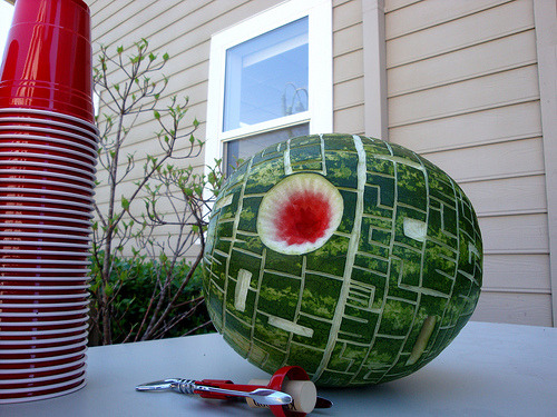 wired:  [via Laughing Squid] Death Star. Party time. Excellent.