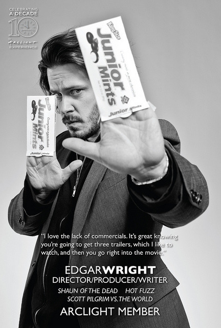 lolitserica:  Edgar Wright / Arclight Member by Edgar Wright on Flickr.