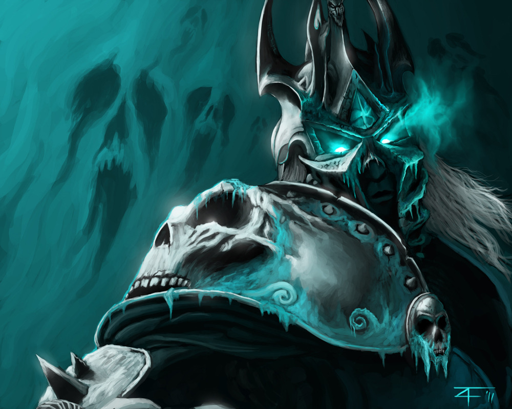 The Lich King by Fansler (WookieeSoup)