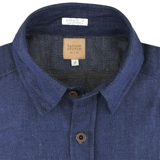 Taylor Stitch - Heavy Duty Denim Shirt If your brave enough to wear in 7-12oz denim you might look at this Taylor Stitch Shirt as a challenge. Cone Mill Denim Shirts are available in 7oz - 12oz. I personally don't think I could do it but someone out there sure can. Available to purchase here. Source