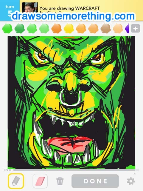 WARCRAFT- http://drawsomemorething.com Source - Brad1000 #drawsomething
