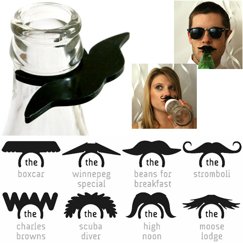 The Popstache: A sure-fire way to make any party a classy one.