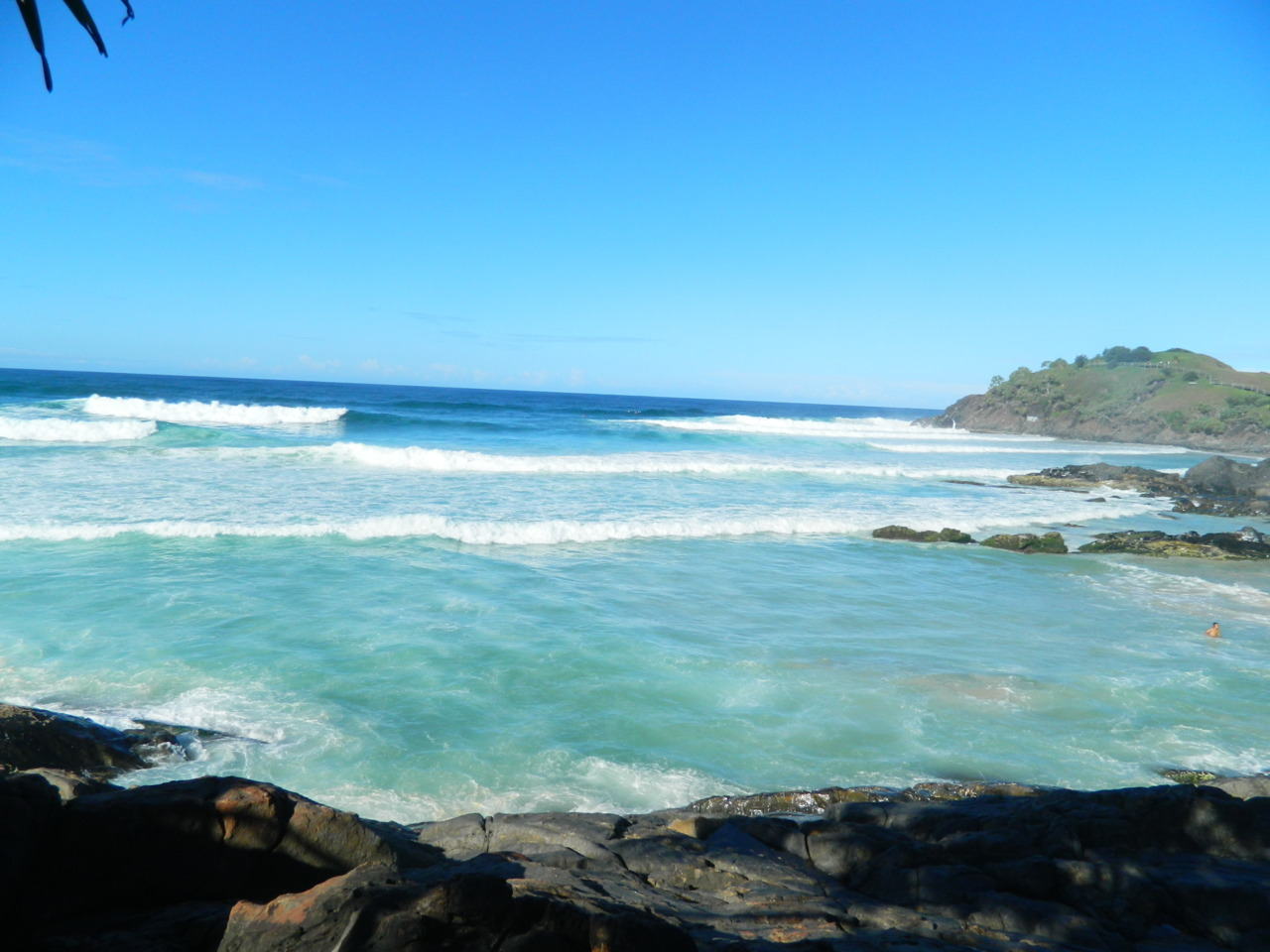 beautiful Cabarita beach, 19/4/12