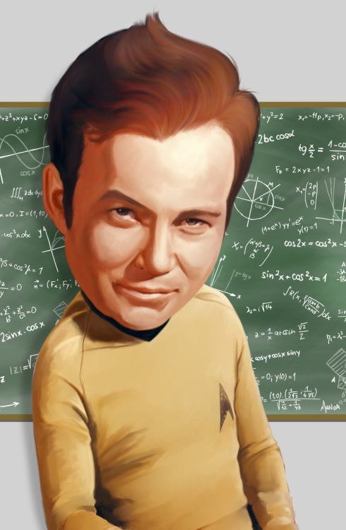 assorted-goodness:  Life lessons from Captain Kirk - by Adam Munoa DeviantART || Website