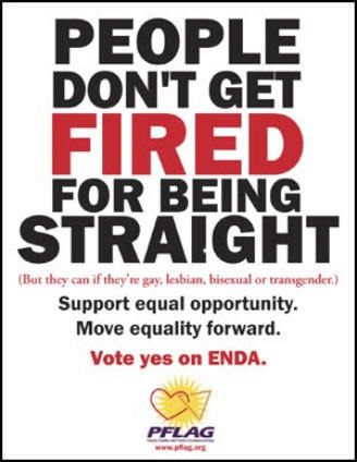 gaywrites:  Support PFLAG. Support the community. Pass ENDA.