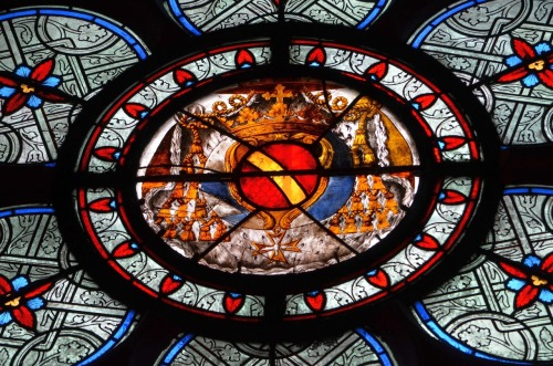 isli:  stained glass detail, notre dame