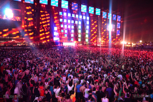 ravetube:  Kinetic Field | EDC 2011