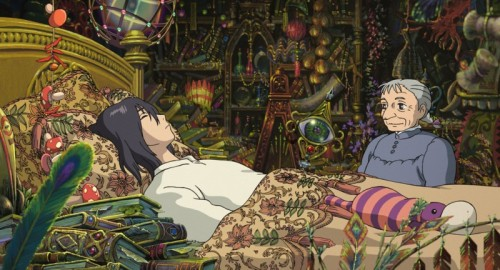 Howl's Moving Castle (Miyazaki, 2004) good + awesome