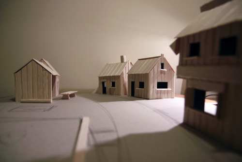 More on the Villiage/street, layout design