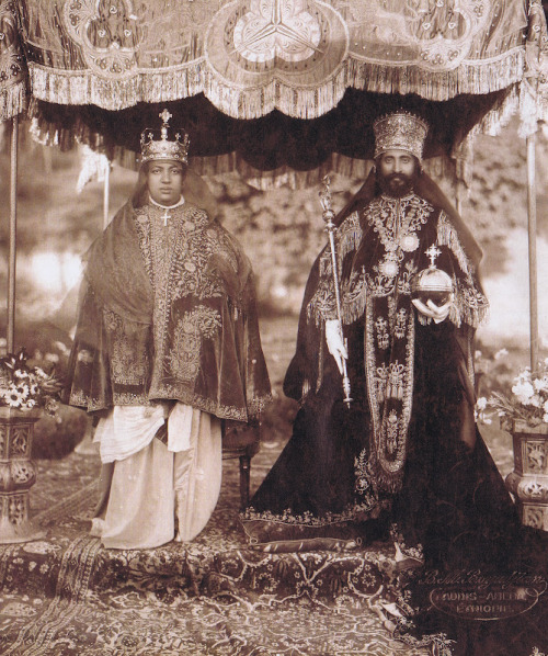 Emperor and Empress of Ethiopia