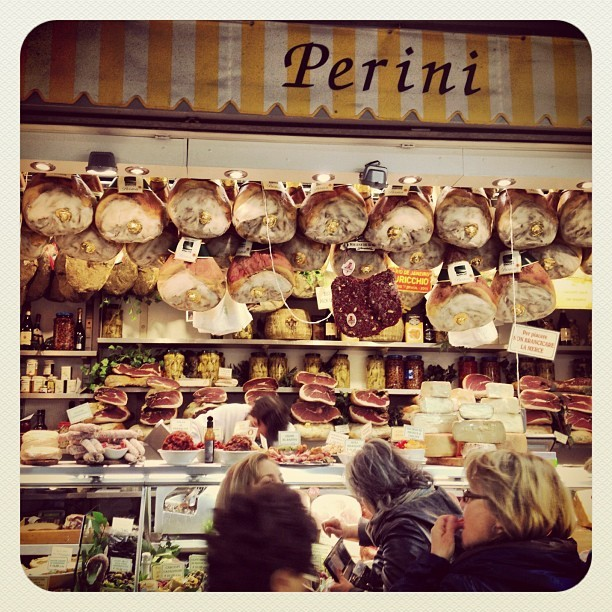 #food #market #meat #florence #italy  (Taken with Instagram at Mercato Centrale)